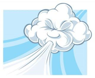 Windy-cloud