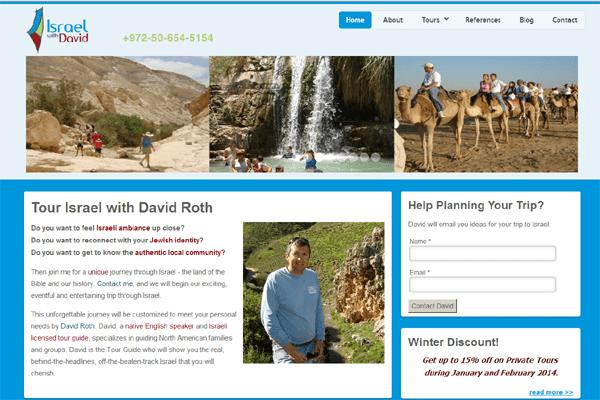 Israel with David Tours