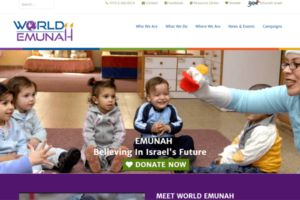 world emunah website